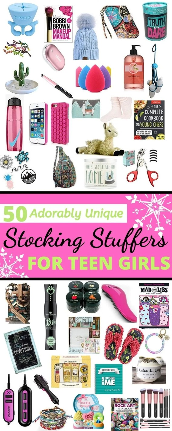 Teen encouragment Gift for teenagers girls cool Christmas stocking stuffier filler click here to explore more