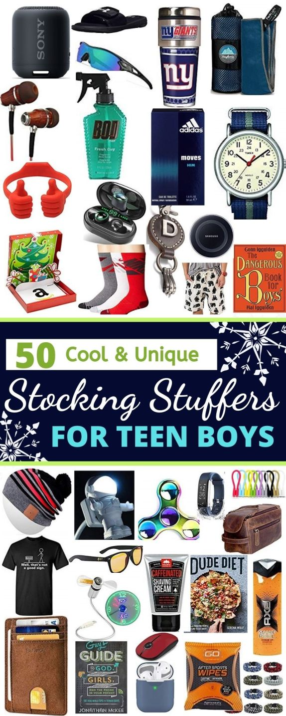 50 Cool Stocking Stuffers For Teen Boys 2020 Raising Teens Today