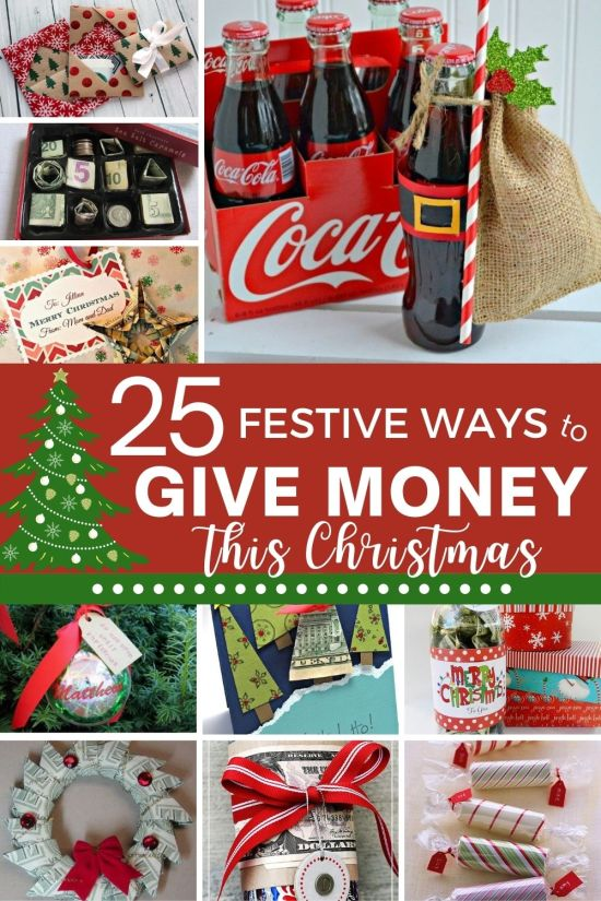 25 Creative Ways To Give Money This Christmas Raising Teens Today