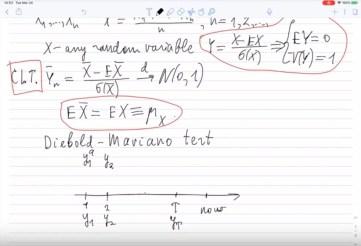 Diebold-Mariano test