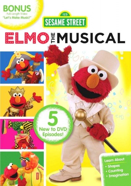 Win the Elmo the Musical DVD