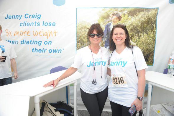 Jenny Craig Brand Ambassador Valerie Bertinelli Leads Team Jenny At The American Heart Association's Wall Street Run & Heart Walk 5.30.2013