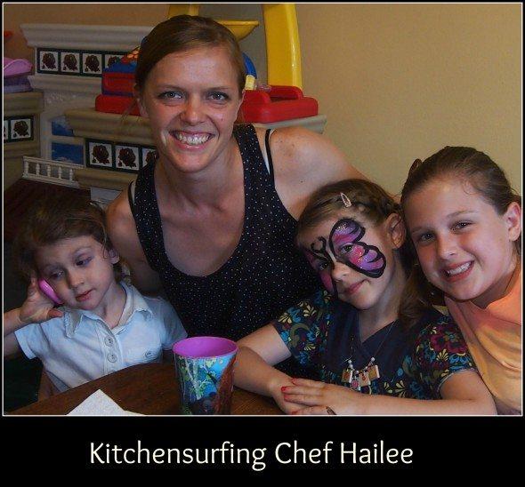 Kitchensurfing Chef Hailee  Moore & Raising 3 Savvy Ladies
