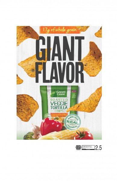 Green Giant Veggie Chips Key Visual 2