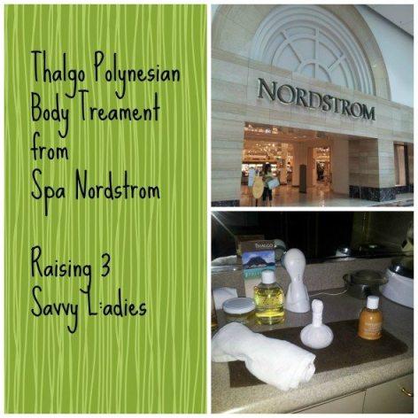 Thalgo Polynesian Body Treament from Spa Nordstrom