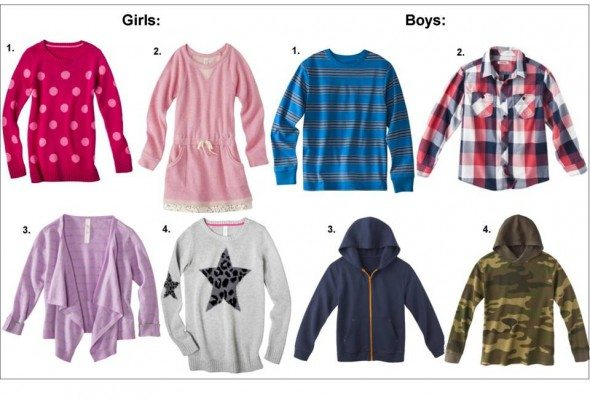 Target Fall Styles for Kids