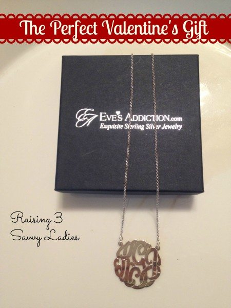 a Sterling Silver Monogram Necklace