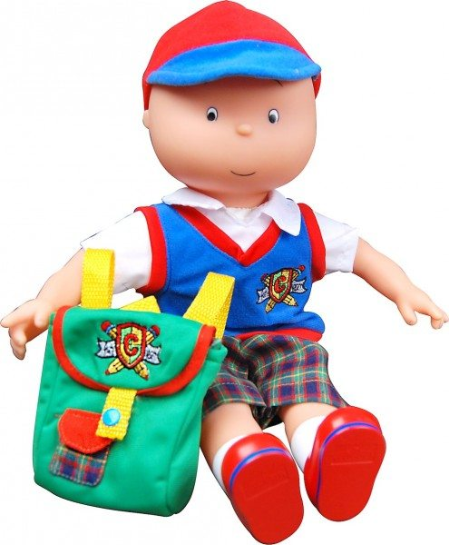 Caillou talking doll
