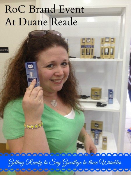 Roc brand Duane Reade Event #shop