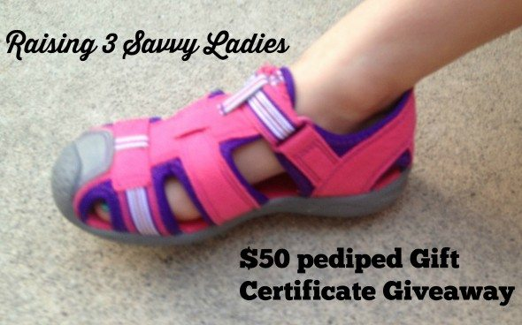 Pediped  shoes $50 Gift certifiate Giveaway