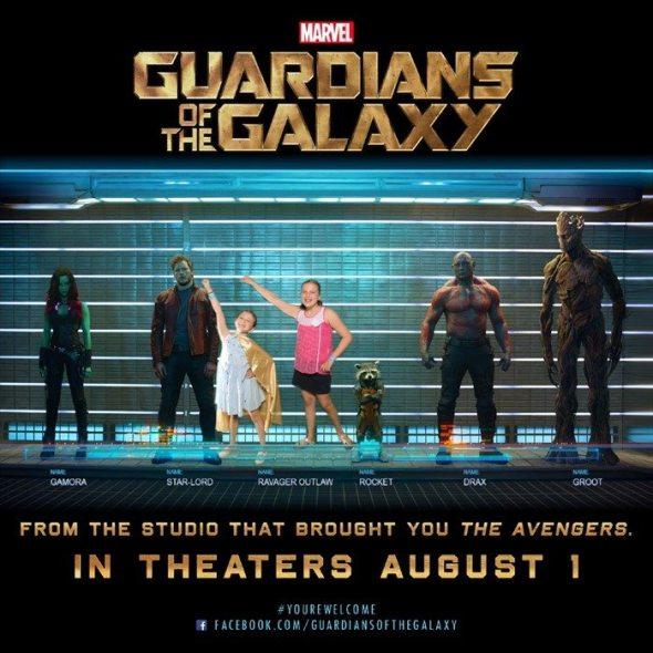 Guardians of the Galaxy Raising 3 Savvy Ladies