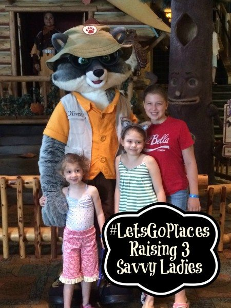 Raising 3 Savvy ladies Great Wolf Lodge