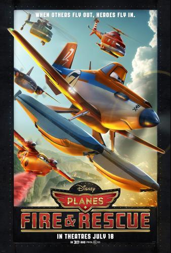 Disney' PLANES: FIRE & RESCUE