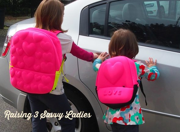 Litte Miss Matched Backpacks Back to School