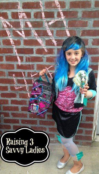 Monster High costume Raising 3 Savvy Ladies