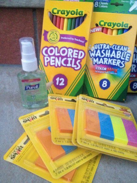 School Specialty & Crayola Purell Lend a Hand