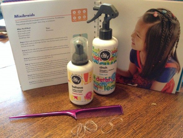 Minibraids style with So Cozy Products