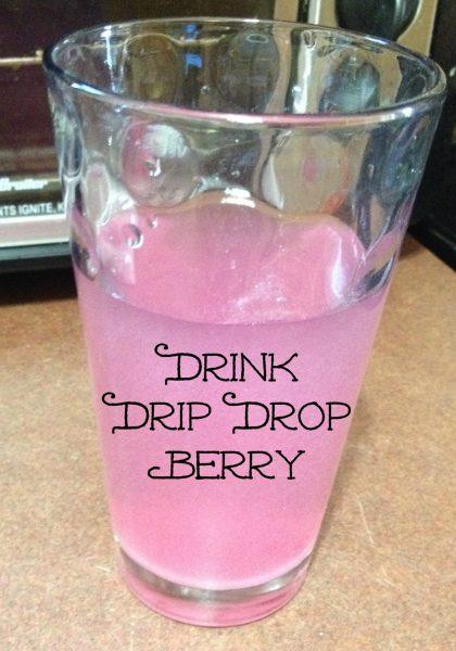 #DrinkDripDrop berry