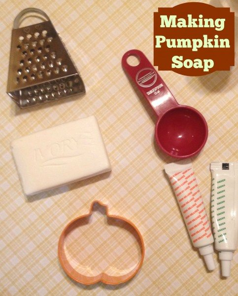Making Pumpkin Soap