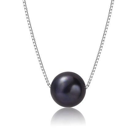 avalon black pearl pendant