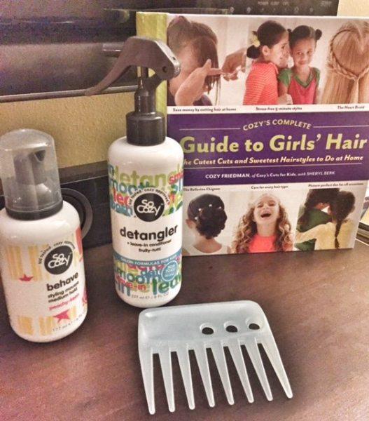 Guide to Girl's Hair Cozy Friedman
