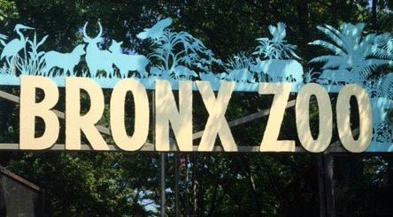 Bronx Zoo sign