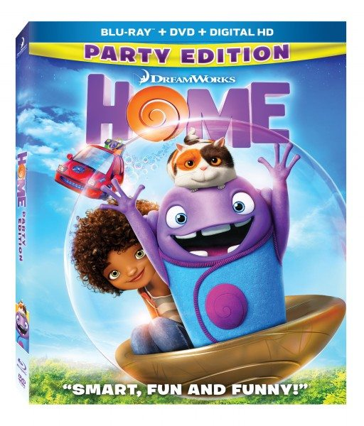 HOME Blu-Ray DVD