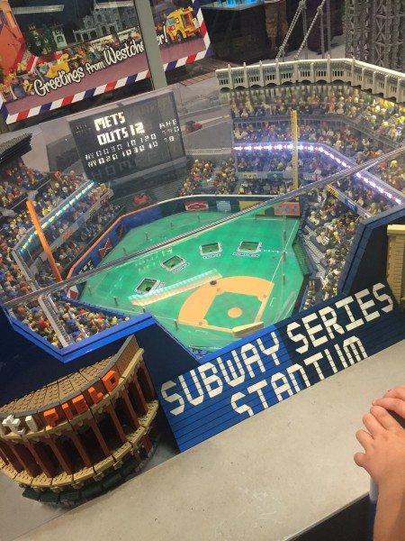 Subway series Stadium Legoland Westchester