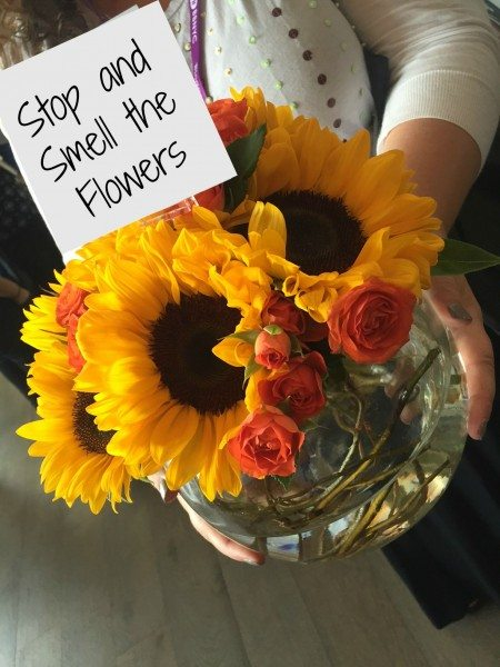 #LiveBrighter Stop and Smell the Flowers