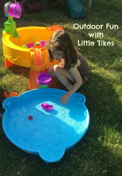 Outdoor Fun With Little Tikes