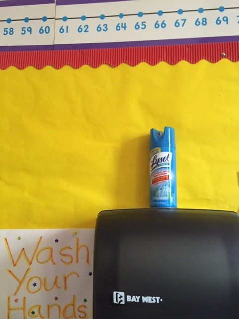 Lysol in the Classroom