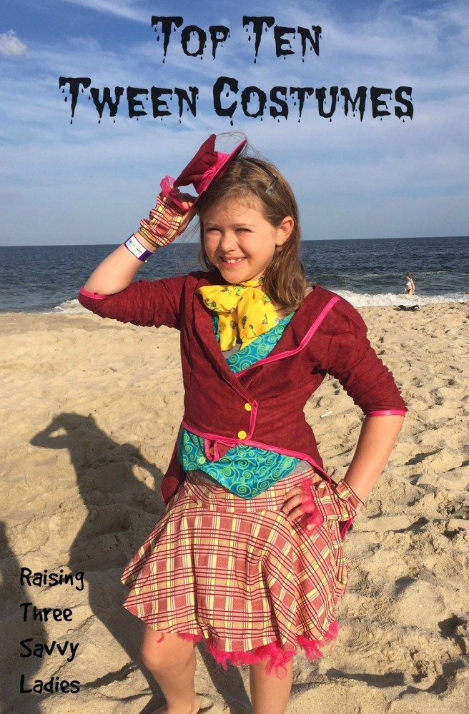 Top Ten Tween Costumes
