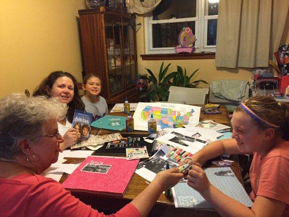 Paper Towns Scrapbooking Party memories