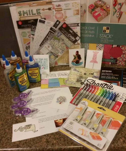 Paper Towns Scrapbooking Party