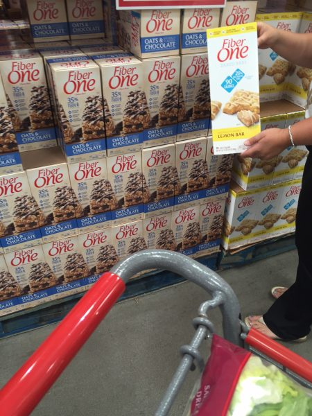 Fiber One Snack bArs at Costco