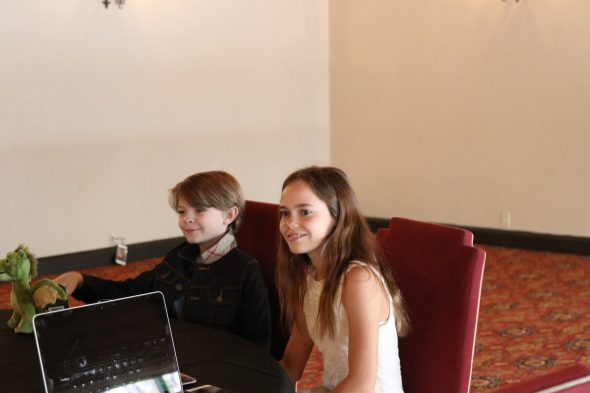 Petes dragon Interview Oona & Oakes