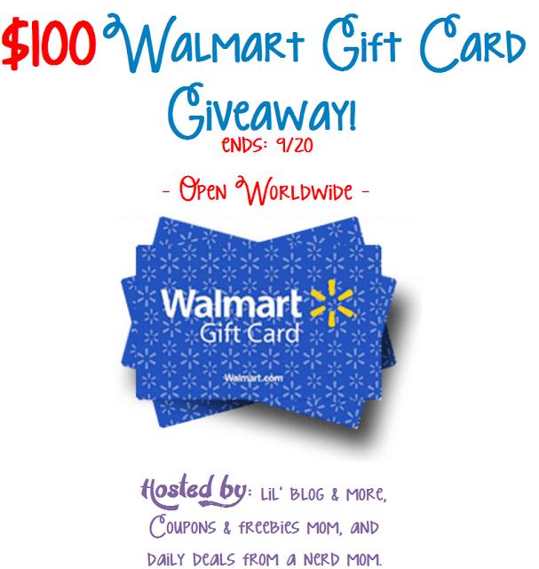 Win A $100 Walmart Gift Card