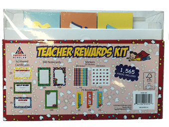 teacher rewards kit back