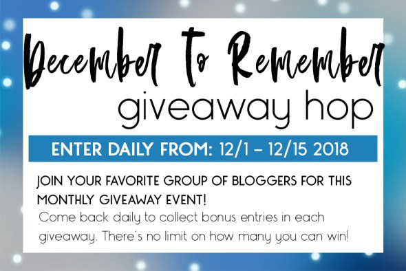 Win a $25 Amazon Gift Card in the December to Remember Giveaway Hop