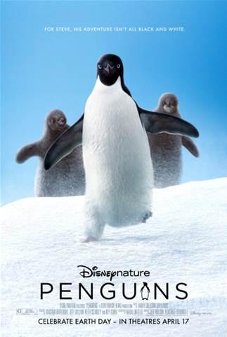 Disneynature Penguins poster.
