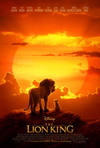 Disney's The Lion King poster.
