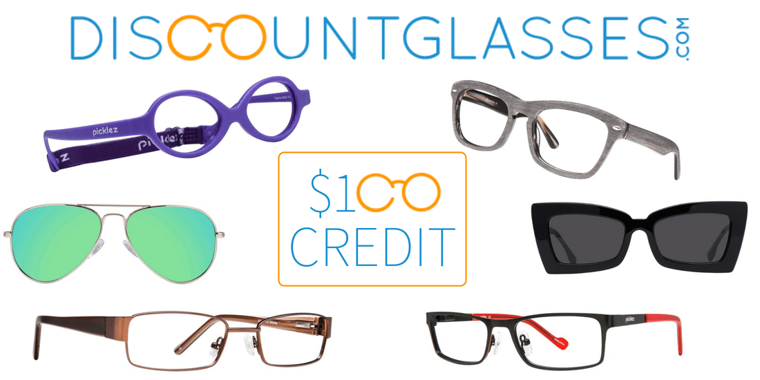 Win $100 credit to DiscountGlasses.com in US Japan Fam's $400 value jackpot Back to School Giveaway
