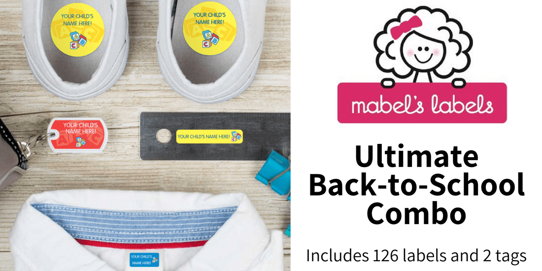 Win a set of Mabel's Labels in US Japan Fam's $400 value jackpot Back to School Giveaway
