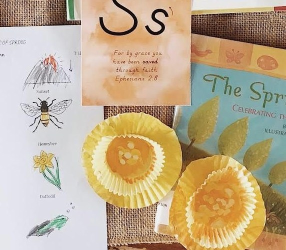spring craft for kids daffodil