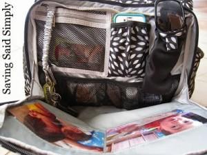 Ju-Ju-Be Be Prepared Diaper Bag front pocket
