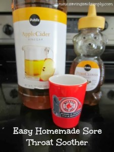How to: Easy Homemade Sore Throat Soother