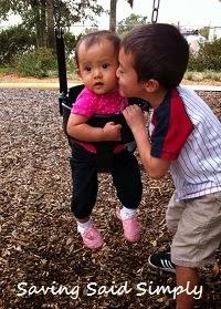 2 Kids at the playground