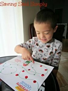 FREE printable VeggieTales Christmas kids activity