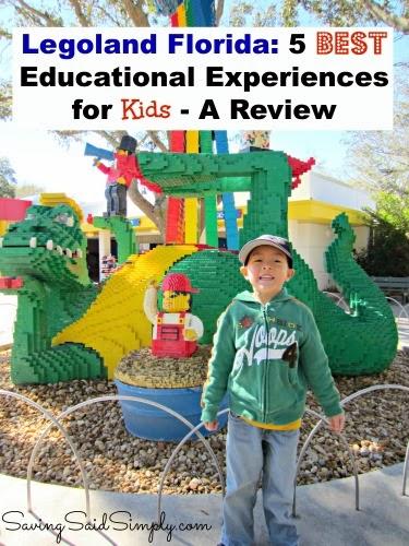 LEGOLAND Florida 5 Best Educational Experiences for Kids