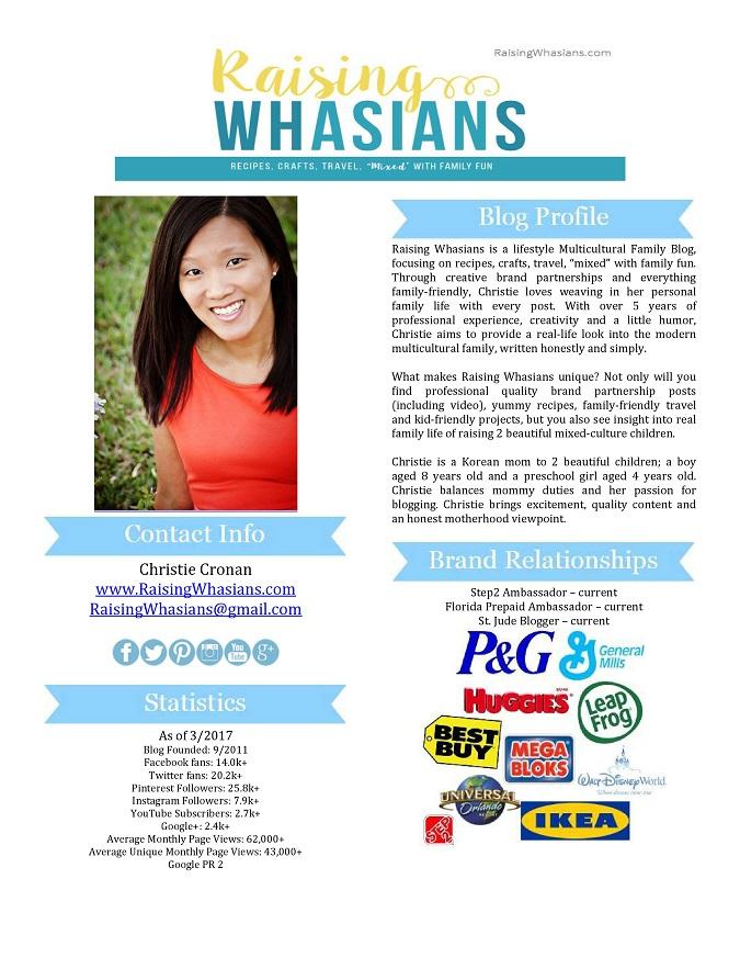 Raising Whasians media kit 3-17